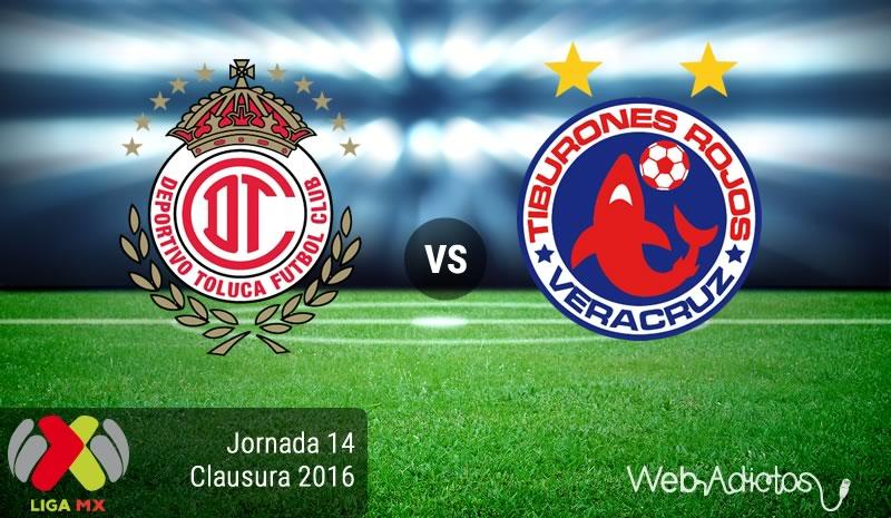 Toluca vs Veracruz, Jornada 14 del Clausura 2016   Resultado: 4-2 - toluca-vs-veracruz-jornada-14-del-clausura-2016