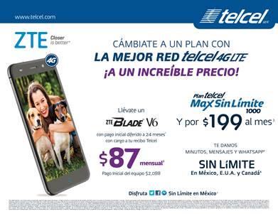 ZTE democratiza la telefonía celular en México - zte-blade-v6-red-4lte