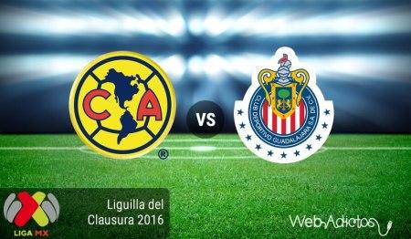 América vs Chivas, Liguilla del Clausura 2016 | Resultado: 2-1