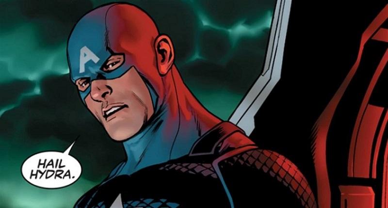 Capitán América sería agente de Hydra en nuevo cómic de Marvel - capitan-america-hydra-800x429