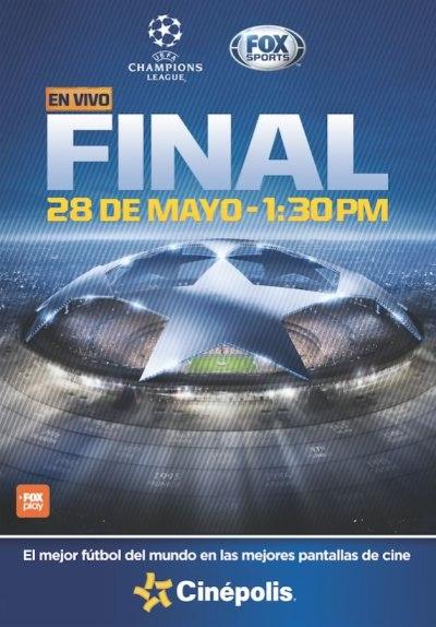 Final de Champions 2016 en Cinépolis con transmisión de Fox Sports - final-champions-2016-cinepolis