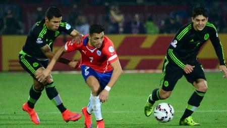 A qué hora juega México vs Chile 2016 y en qué canal de tv se transmite