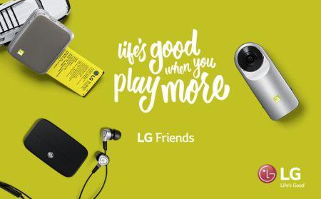 LG Friends, los accesorios del LG G5 llegan a México