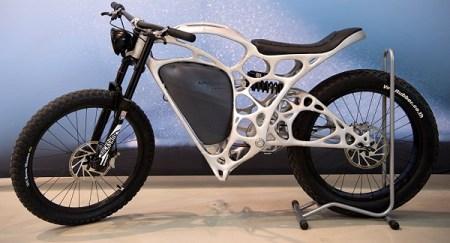 Light Rider, la primera moto eléctrica creada con una impresora 3D