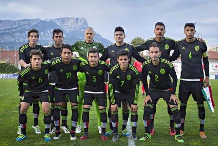 México vs República Checa, Esperanzas de Toulon 2016