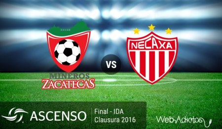 Mineros vs Necaxa, Final del Ascenso MX C2016 ¡En vivo por internet!