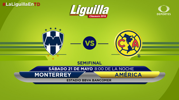 Monterrey vs América, Semifinal Clausura 2016 | Resultado: 4-2 - monterrey-vs-america-semifinal-vuelta-2016-televisa-deportes