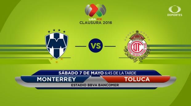 Monterrey vs Toluca, Jornada 17 del Clausura 2016   Resultado: 1-2 - monterrey-vs-toluca-clausura-2016-televisa-deportes