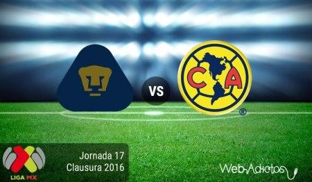 Pumas vs América, Clásico Capitalino en el Clausura 2016 | Resultado: 1-1