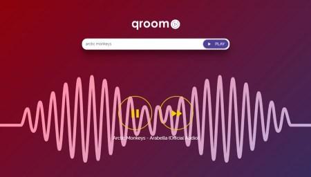 Qroom, una opción para escuchar música gratis y sin registros