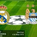 Real Madrid vs Manchester City, Semifinal ¡En vivo por internet! | Champions 2016