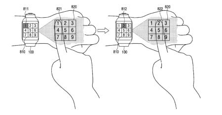 Samsung patenta un smartwatch muy futurístico