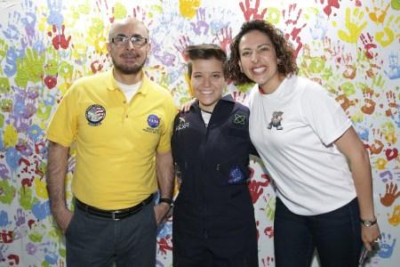 Rodolfo Neri, astronauta mexicano presente en el TEDxKids Mexico City