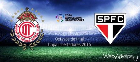 Toluca vs Sao Paulo, Copa Libertadores 2016 | Resultado: 3-1