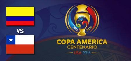 Colombia vs Chile en Copa América Centenario 2016 | Resultado: 0-2