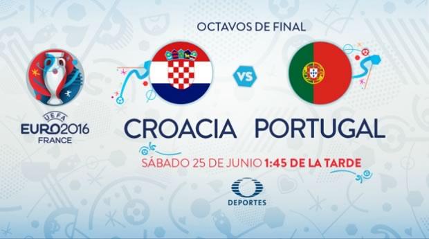 Croacia vs Portugal, Octavos de la EURO 2016   Resultado: 0-1 - croacia-vs-portugal-en-vivo-euro-2016