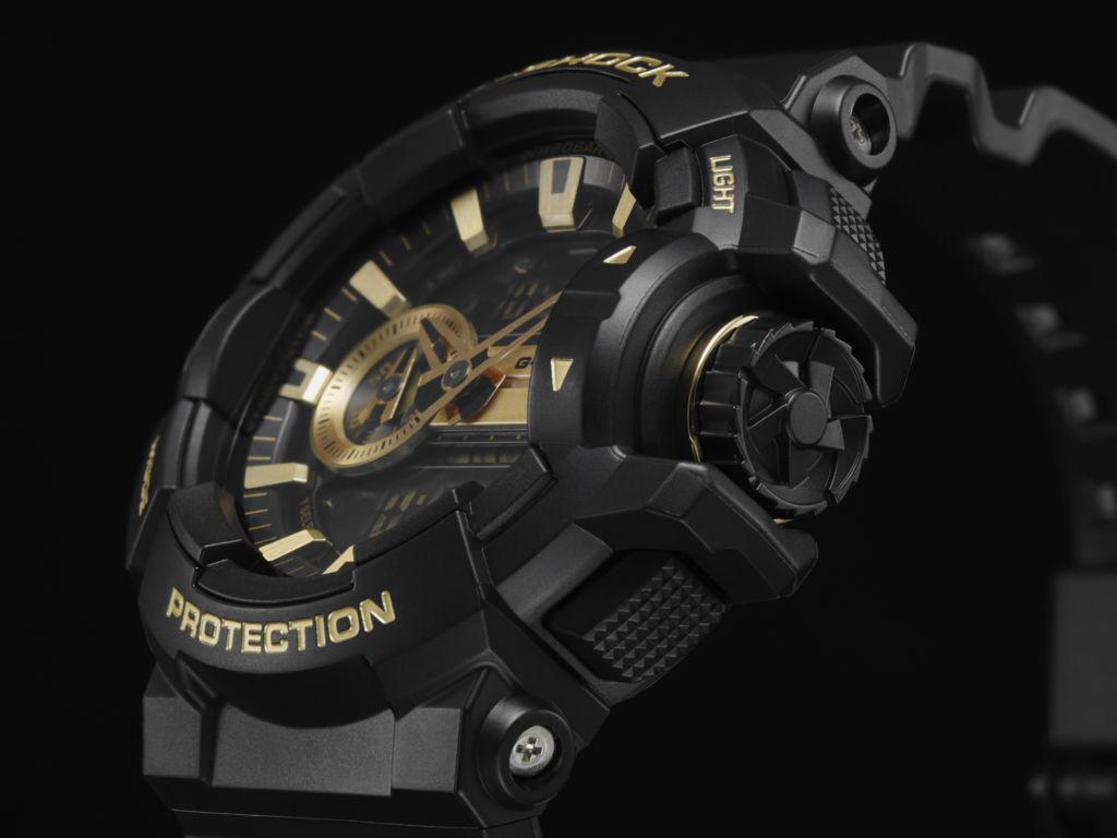 G-Shock anuncia tres nuevo modelos de su serie Metallic Dial - ga-400gb-1a9_serie-metallic-dial1