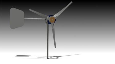 Generador eólico de baja escala nutre de energía a comunidades rurales