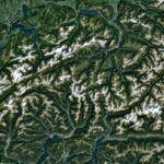 Google Maps se actualiza mejorando imágenes de satélite - google-maps-alpes-suizos