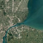 Google Maps se actualiza mejorando imágenes de satélite - google-maps-detroit