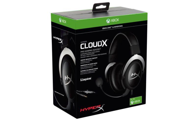 HyperX CloudX Pro Gaming Headset para Xbox One - hyperx-cloudx_1-800x500