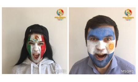 Facebook invita a ponerse las máscaras de la Copa América Centenario 2016