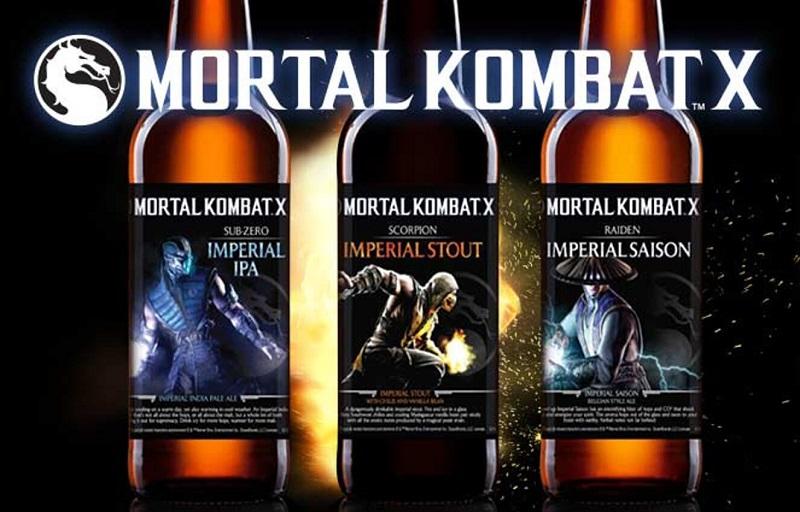Mortal Kombat tendrá línea de cervezas artesanales - mortal-kombat-cerveza-800x512
