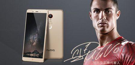 Cristiano Ronaldo, será la imagen de la marca NUBIA a nivel mundial