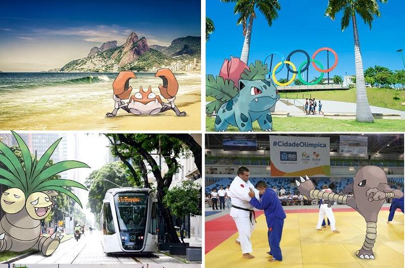 "Río de Janeiro pide a Nintendo que lleve ""Pokémon Go"" a Río 2016"