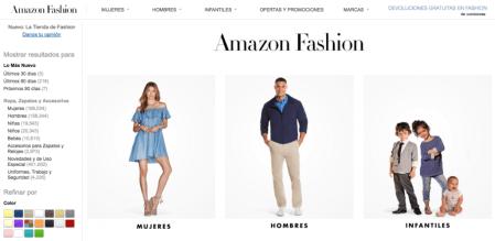 Amazon Mexico lanza Amazon Fashion, moda a un solo clic