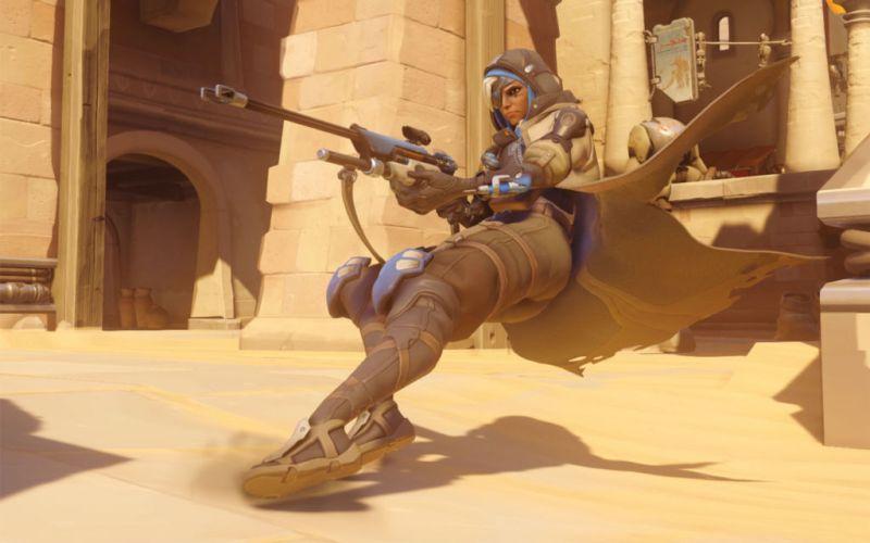 Blizzard revela detalles de Ana, la nueva heroína de Overwatch - ana-overwatch