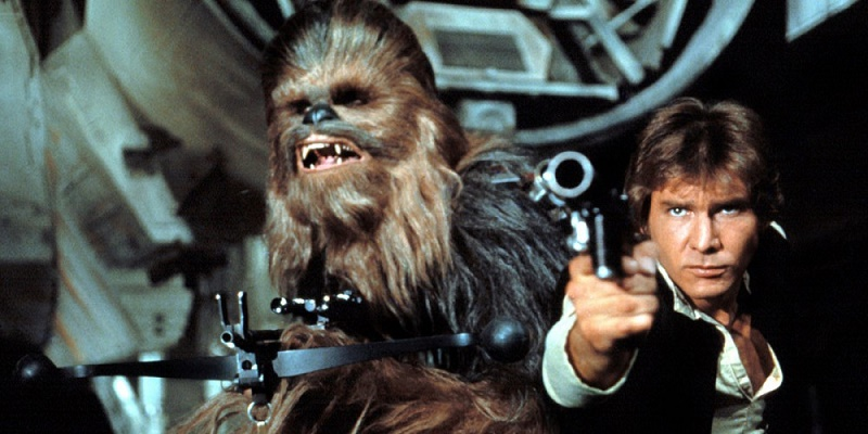 'Star Wars': Disney estaría preparando una trilogía sobre Han Solo - best-movie-sidekicks-chewbacca-800x400