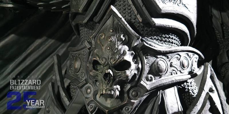 Blizzard develará estatua de bronce basada en personaje del universo Warcraft - blizzard-25aniversario-800x400
