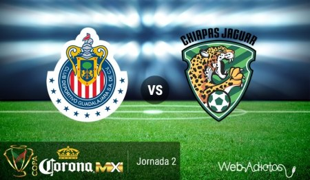 Chivas vs Jaguares en la Copa MX AP2016 ¡En vivo por internet!