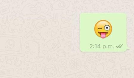 WhatsApp se actualiza con emojis gigantes y una sorpresa para JJOO Río 2016