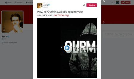 Hackean cuenta de Twitter de Jack Dorsey, CEO de esta red social