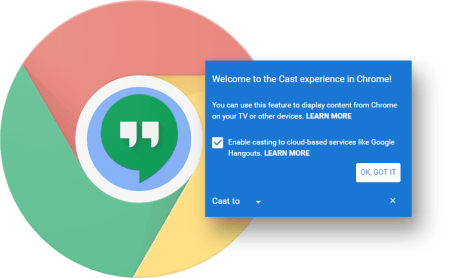 Google Chrome añade soporte nativo para Cast