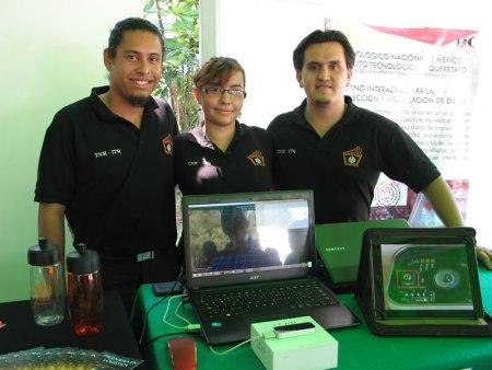 Estudiantes del ITQ diseñan dispositivo para traducir el lenguaje de señas