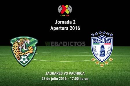 Jaguares vs Pachuca, Fecha 2 del Apertura 2016 | Resultado: 0-2