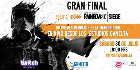 Aztek Gaming y HAwX Gaming se enfrentarán en la gran final del torneo Tom Clancy's Rainbow Six Siege