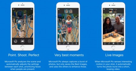 Microsoft presenta Pix: su cámara para iOS