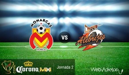 Morelia vs Alebrijes, J2 de la Copa MX Apertura 2016 ¡En vivo por internet!