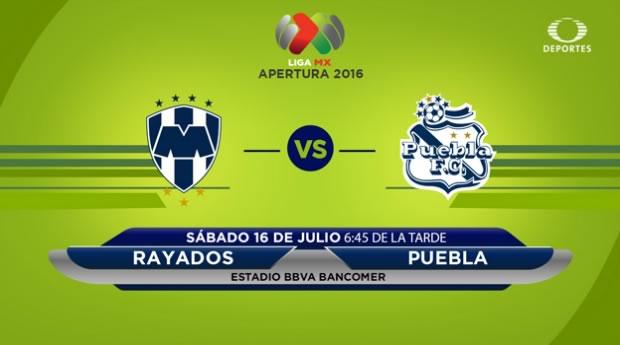 Monterrey vs Puebla, Jornada 1 Apertura 2016 | Resultado: 1-1 - monterrey-vs-puebla-en-vivo-apertura-2016