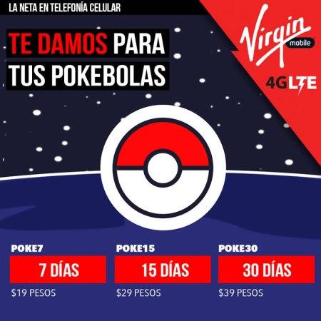 Virgin Mobile anuncia datos ilimitados para jugar Pokémon Go