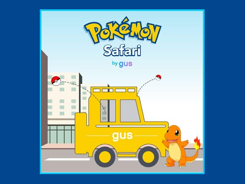 Pokémon Safari, el servicio que te lleva a cazar Pokemones - pokemon-safari