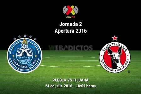 Puebla vs Tijuana, Jornada 2 del Apertura 2016 ¡En vivo por internet!