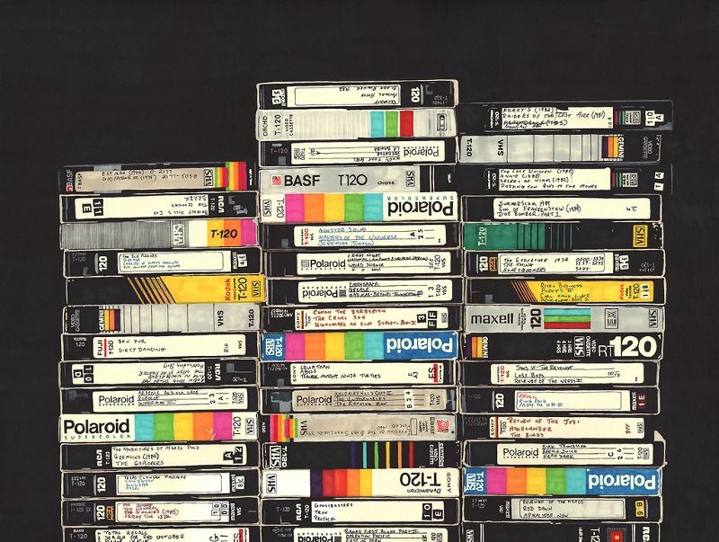Dejan de fabricar el formato VHS - vhs-tapes-800x603