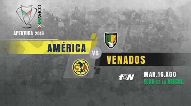 América vs Venados, J4 de la Copa MX A2016   Resultado: 2-0 - america-vs-venados-en-vivo-copa-mx-apertura-2016