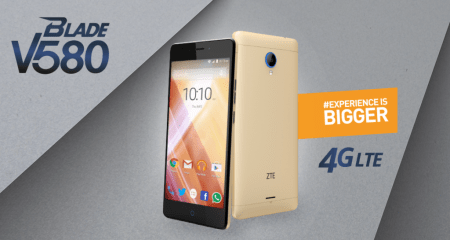 ZTE Blade V580 ya disponible en Telcel
