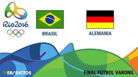 Brasil vs Alemania, Final en Río 2016 | Resultado 1 (5)-(4) 1